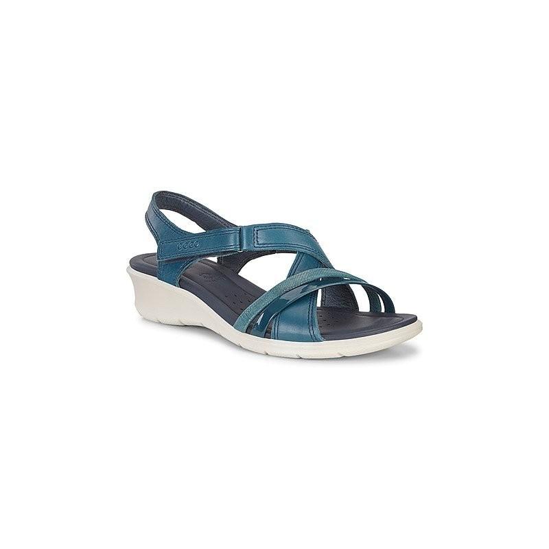 beb3341c2054 ECCO women s cross strap sandal FELICIA model art. 21651350914 shopping  online Naturalshoes.it