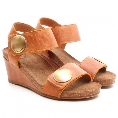 8020 - CA'SHOTT Damensandale Modell 8020 mit 7 cm Keil in vendita su Naturalshoes.it