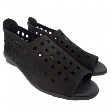 ARCHE women's perforated shoe with back zipper DRICK model shopping online Naturalshoes.it