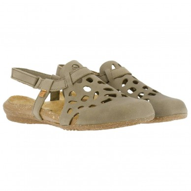 EL NATURALISTA Sandal women's perforated model WAKATAUA art. N5063 shopping online Naturalshoes.it