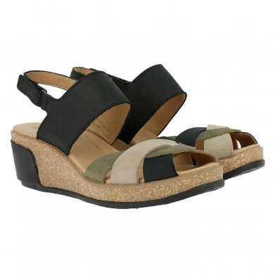 EL NATURALISTA Sandal women's model LEAVES art. N5008  shopping online Naturalshoes.it