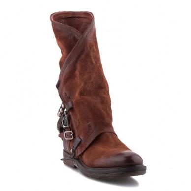 A.S.98 women's ankle boot - GIB model art. 227304 shopping online Naturalshoes.it