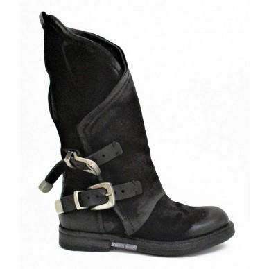 Damenstiefel A.S.98 - GIB-Modell mit seitlichem Reißverschluss - 227309 in vendita su Naturalshoes.it