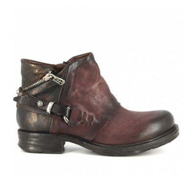 A.S.98 women's ankle boot with back zip - 259238 shopping online Naturalshoes.it