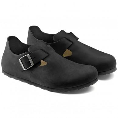 LONDON - BIRKENSTOCK Damen- und Herrenschuh mit anatomischem Fußbett in vendita su Naturalshoes.it