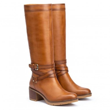 W7H-9616 - PIKOLINOS women's high boot model LLANES shopping online Naturalshoes.it