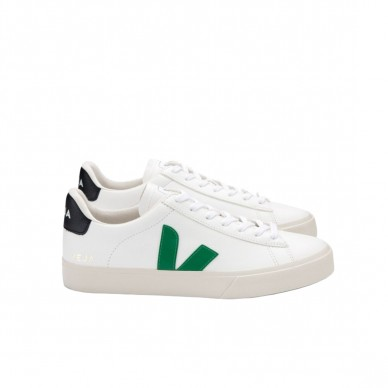 CP051928 - VEJA CAMPO white-emeraude-black shopping online Naturalshoes.it