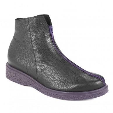 JOEKAM - ARCHE Damen Ankle Boot mit Frontreißverschluss in vendita su Naturalshoes.it