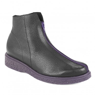 JOEKAM - ARCHE women's ankle boot with front zip shopping online Naturalshoes.it
