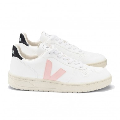 VX071975 - VEJA V-10 white-petale-black in vendita su Naturalshoes.it