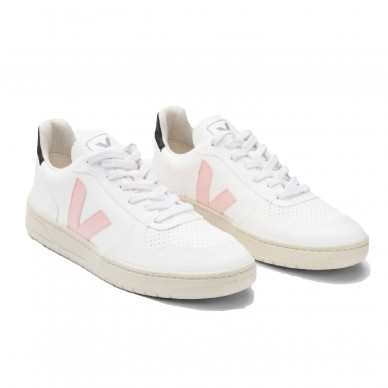 VX071975 - VEJA V-10 white-petale-black shopping online Naturalshoes.it