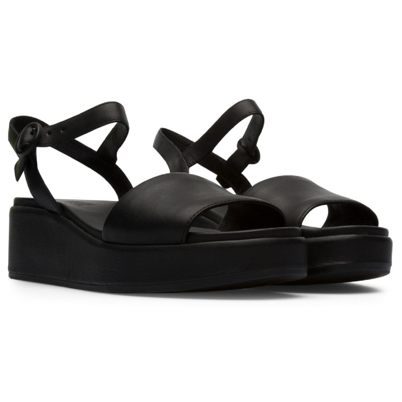 K200564 - CAMPER Woman's band sandal with adjustable ankle strap model MISIA shopping online Naturalshoes.it
