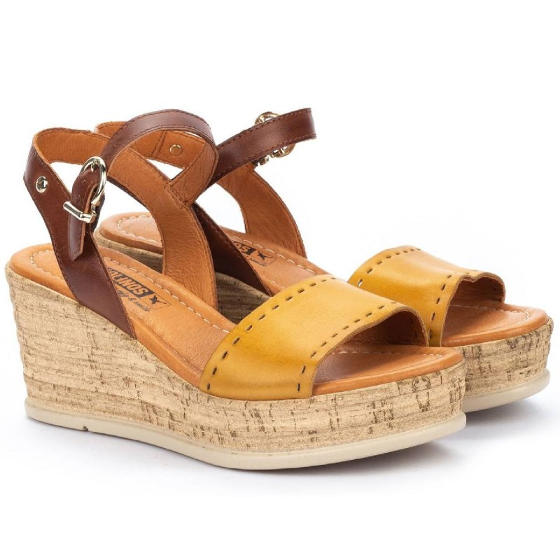 W2F-1843C1 - Sandal women's PIKOLINOS model MIRANDA shopping online Naturalshoes.it