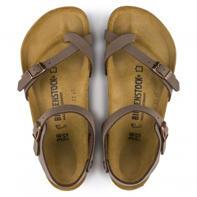 TAORMINA (BIRKO-FLOR) - Sandalo da donna BIRKENSTOCK con infradito e cinturini regolabili  in vendita su Naturalshoes.it