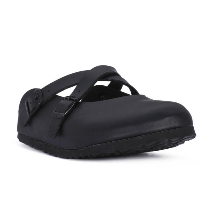 DORIAN (BIRKO-FLOR) - BIRKENSTOCK woman sabot, cork and latex footbed shopping online Naturalshoes.it
