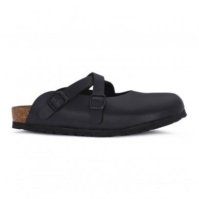 DORIAN (BIRKO-FLOR) - BIRKENSTOCK Damen Sabot, Kork und Latex Fußbett in vendita su Naturalshoes.it
