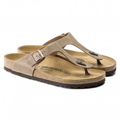 GIZEH (LEATHER) - BIRKENSTOCK men's and women's thong sandal shopping online Naturalshoes.it