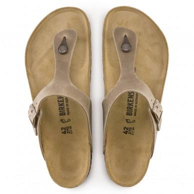 GIZEH (LEDER) - BIRKENSTOCK Tangasandale für Herren und Damen in vendita su Naturalshoes.it