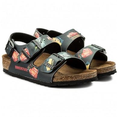 MILANO (CARS) - Sandalo da bambino BIRKENSTOCK - BIRKO-FLOR in vendita su Naturalshoes.it
