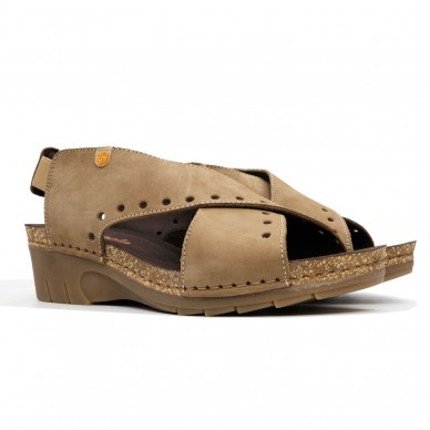 7127 - JUNGLA Damen Sandale in vendita su Naturalshoes.it