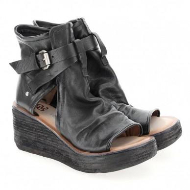 528072 - Sandalo da donna A.S.98 con zeppa e cinturino laterale modello NOA in vendita su Naturalshoes.it