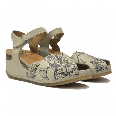 O00113 - ONFOOT Damensandale in vendita su Naturalshoes.it