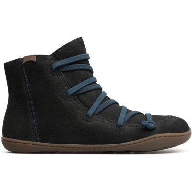 CAMPER women's ankle boots in rough leather - 46104 shopping online Naturalshoes.it