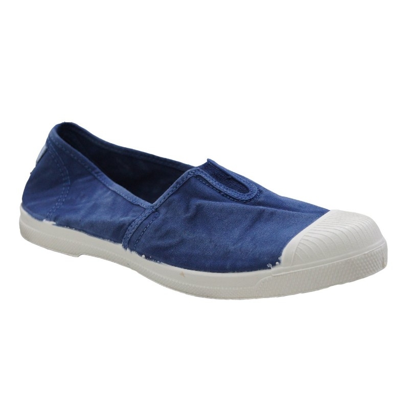 NATURAL WORLD Woman's ballerina with elastic in the upper part model OLD AQUA art. 106E shopping online Naturalshoes.it