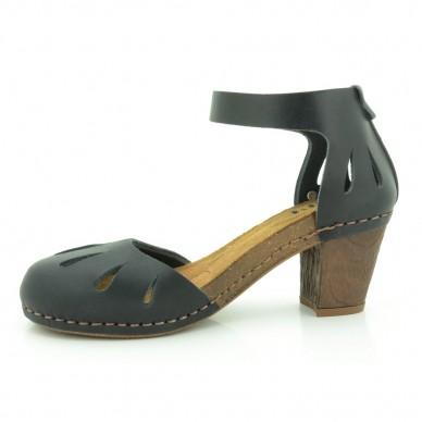 Sandalo chiuso in punta con cinturino alla caviglia regolabile in velcro da donna ART modello MOJAVE I MEET art 144 in vendita su Naturalshoes.it