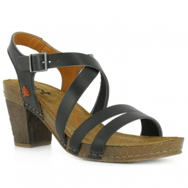 ART Sandal with heel (6 cm) with adjustable ankle strap for woman model MOJAVE I MEET art. 146 shopping online Naturalshoes.it