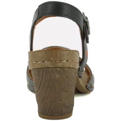 Sandalo da donna con tacco (6cm) e cinturino alla caviglia ART modello I MEET art. 1270S in vendita su Naturalshoes.it