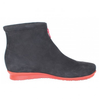 ARCHE Woman's ankle boot in leather BARWOL model shopping online Naturalshoes.it