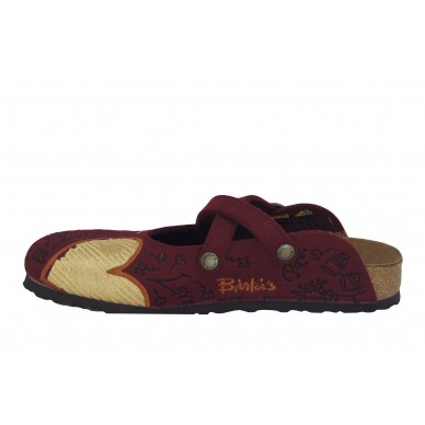 BIRKI'S women's sabot with crossed straps - DORIAN shopping online Naturalshoes.it