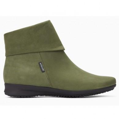 Damenstiefeletten MEPHISTO Wildleder und Nubuk - TRUST in vendita su Naturalshoes.it