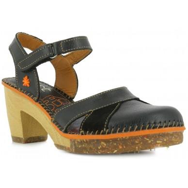 Sandalo chiuso in punta con cinturino regolabile da donna ART modello AMSTERDAM art. 313 in vendita su Naturalshoes.it