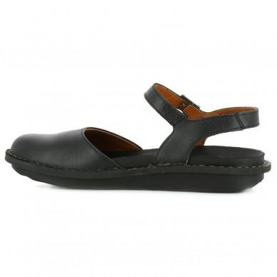 Scarpa con fascia al tallone e cinturino regolabile alla caviglia da donna ART modello MEMPHIS art. 1301 in vendita su Naturalshoes.it