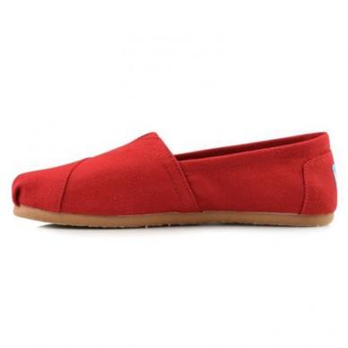 Scarpe da donna TOMS in canvas rosso - 10000874 in vendita su Naturalshoes.it
