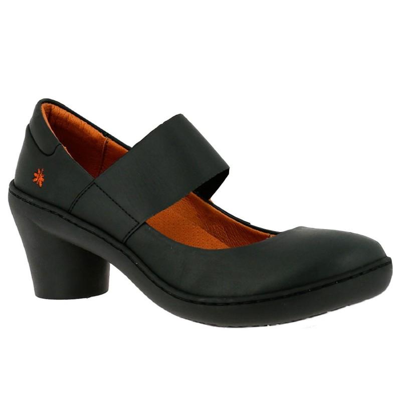 Scarpa con tacco e fascia elastica da donna ART modello ALFAMA art. 1445 in vendita su Naturalshoes.it