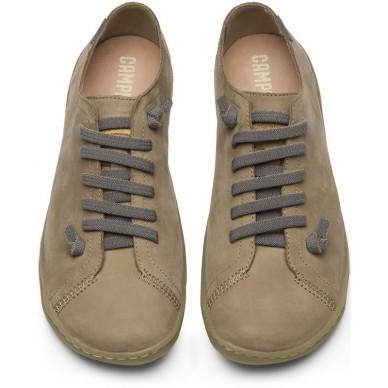 CAMPER Women's low shoe with elastic laces model PEU 20848 shopping online Naturalshoes.it