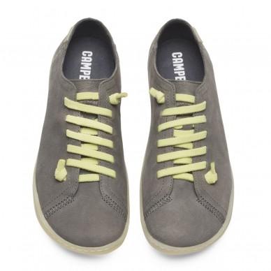 CAMPER Damen-Halbschuh mit elastischen Schnürsenkeln Modell PEU 20848. in vendita su Naturalshoes.it