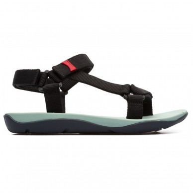 CAMPER Frauensandale mit verstellbaren Klettverschlüssen  Modell MATCH Art 21891 in vendita su Naturalshoes.it