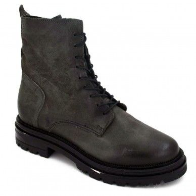 Woman's MJUS lace-up ankle boot with zipper - 158212 shopping online Naturalshoes.it