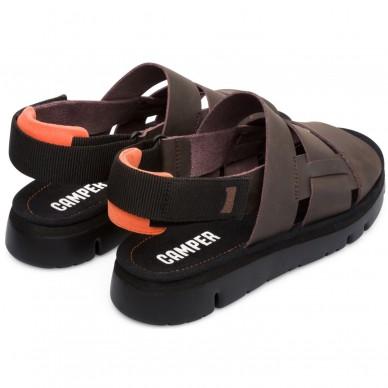 CAMPER Sandale mit breiten Streifen für Männer Modell ORUGA Kunst. K100470 in vendita su Naturalshoes.it