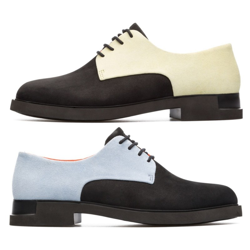 e4b1ed1fdaed67 CAMPER Lace-up shoe for women model TWINS art. K200746 shopping online  Naturalshoes.