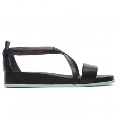 Sandalo basso da donna a fasce regolabili incorciate CAMPER modello ATONIK art. K200787 in vendita su Naturalshoes.it