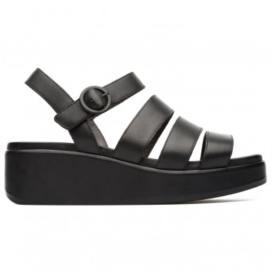 CAMPER Striped sandal with adjustable strap for women model MISIA art. K200864 shopping online Naturalshoes.it