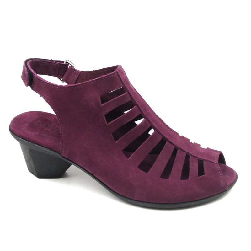 ARCHE High-heeled sandal with adjustable strap for woman model ENEXOR shopping online Naturalshoes.it
