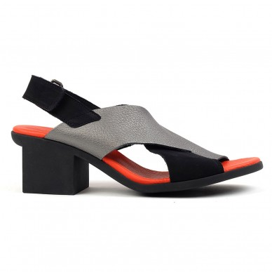 ARCHE Damen cross-Band-Sandale mit verstellbarem Riemen und Fersenmodell VAYEST in vendita su Naturalshoes.it