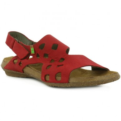 EL NATURALISTA Sandal women's perforated model WAKATAUA art. N5061 shopping online Naturalshoes.it