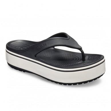 Sandalo infradito da donna CROCS modello  CROCBAND™ PLATFORM FLIP W art. 205681 in vendita su Naturalshoes.it